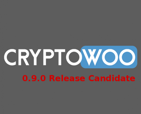 CryptoWoo 0.9.0 Release Candidate