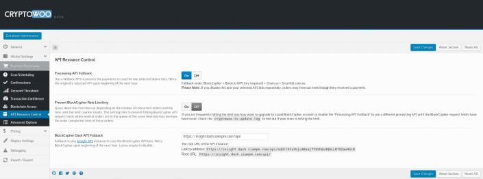 API Resource Control