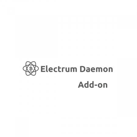 Electrum Daemon Add-on